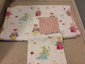 Girls Twin Reversible Coverlet