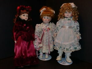 Vintage Porcelain Dolls Collection--27 dolls never played with Peterborough Peterborough Area image 8