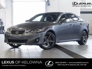 2012 Lexus IS 350 Luxury with Navigation