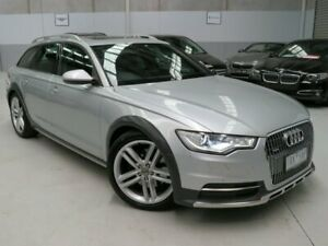 2012 Audi A6 4G MY13 Allroad S Tronic Quattro Silver 7 Speed Sports Automatic Dual Clutch Wagon Seaford Frankston Area Preview