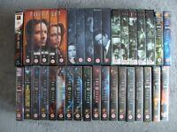 66 VHS X-FILE VIDEOS....EXCELLENT CONDITION