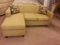 Brand new highpoint sectional with reversable chaise only $398