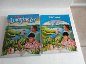 SRA Imagine It! Textbook & Workbook Set Hardcover Level 3 Book 1