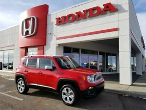 2017 Jeep Renegade Limited 4x4, LEATHER, REMOVABLE TOP, NAV..!!