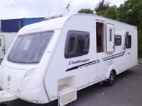 2010 Swift Challenger 580 4 Berth FIXED ISLAND BED Inc Awning and Mover.