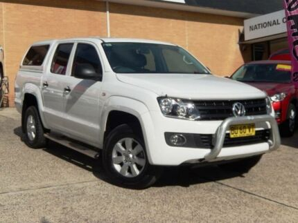 2013 Volkswagen Amarok 2H MY13 TDI420 (4x4) White 8 Speed Automatic Dual Cab Utility Belconnen Belconnen Area Preview