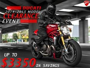 2013-205 Ducati Diavel END OF MONTH PRICING