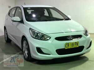 2018 Hyundai Accent RB6 MY18 Sport White Sports Automatic Hatchback Campbelltown Campbelltown Area Preview