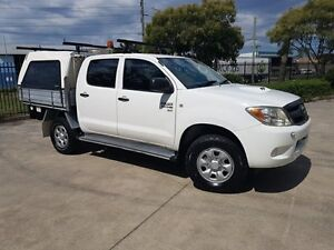 2007 Toyota Hilux KUN26R 07 Upgrade SR (4x4) 5 Speed Manual Dual C/Chas Moorebank Liverpool Area Preview