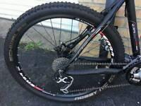 2013 black anodised cube mountain bike