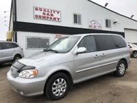 "2005 Kia Sedona LX Anniversary Edition LOW KM""S!!! $4950!! Red Deer Alberta Preview"