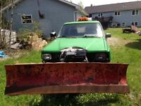 1986 Toyota 4Runner Yard Truck with Plow