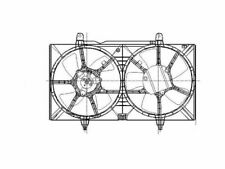 For 2002-2006 Nissan Altima Auxiliary Fan Assembly 32399VD