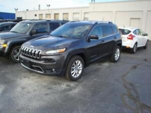 2015 Jeep Cherokee Limited V6 4WD Tech group