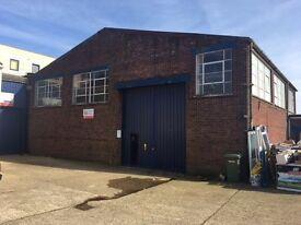 warehouse/workshop/storage unit to let NO VAT ON RENT!!