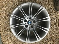 "BMW E60/E61 Genuine Alloy Wheel 18"" x 8J 5 Series MV2 with centre cap"
