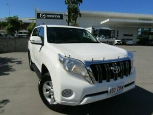 2016 Toyota Landcruiser Prado GDJ150R GXL White 6 Speed Sports Automatic Wagon Maroochydore Maroochydore Area Preview