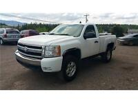2007 CHEVROLET 1500 REGULAR CAB 4X4 PICKUP TRUCK LOW KM
