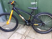 """X Rated Exile Dirt Jump Bike - 24"""" ** suits ages 8 to 12 **"""