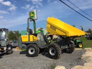 NEW WACKER NEUSON 3001 WHEEL DUMPER - MFWD - ARTICULATED -