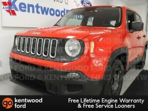 2015 Jeep Renegade SPORT FWD in racing red