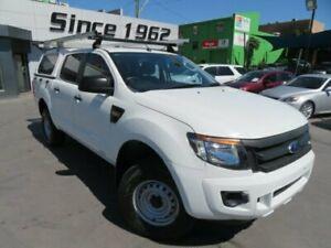 2014 Ford Ranger PX XL 2.2 Hi-Rider (4x2) White 6 Speed Automatic Crew Cab Pickup Granville Parramatta Area Preview