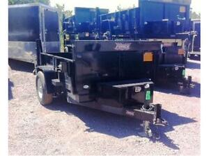 DUMP TRAILERS 5X8 OR 5X10 2 1/2 TON FROM $4695