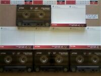 JL £11 & FP&P 4x TDK SF 90 SUPER FIDELITY CHROME CASSETTE TAPES 1995-1997 JOB LOT OR SOLO'S