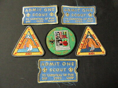 York-Adams Area Council Cub Scout Activity & Day Camp t-Shirts and Patches    - Field Day Activities