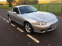 2003 Mazda MX-5 convertible hard top with 12 months mot
