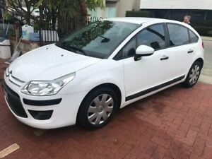 2010 Citroen C4 MY09 VTi EGS White 6 Speed Sports Automatic Single Clutch Hatchback Burswood Victoria Park Area Preview