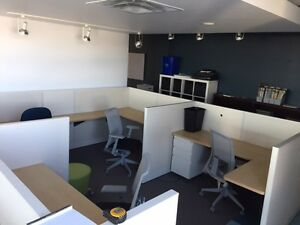 Open Office Work Stations for Sale