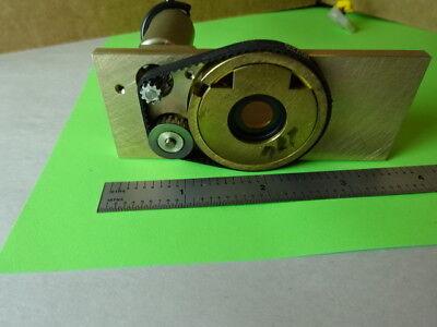 Microscope Part Reichert Polylite Electric Iris Diaphragm Optics 84-a-21