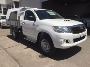 2014 Toyota Hilux KUN26R SR White Automatic Colac Colac-Otway Area Preview
