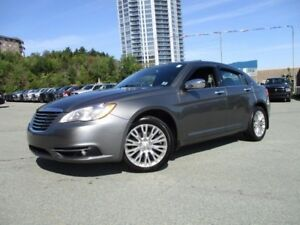 2012 Chrysler 200 Limited V6 (NAVIGATION, HEATED LEATHER, MOONRO