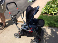 Joovi Caboose sit and stand stroller for sale