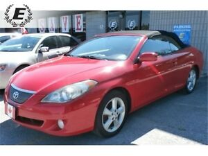 2004 TOYOTA SOLARA SLE COVERTIBLE, LEATHER, V6