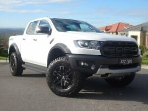 2019 Ford Ranger PX MkIII 2019.00MY Raptor Pick-up Double Cab White 10 Speed Sports Automatic Strathmore Heights Moonee Valley Preview