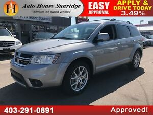 2015 Dodge Journey R/T AWD HEATED LEATHER BCAM ROOF DVD 7PASSNGR