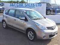 NISSAN NOTE 1.6 ACENTA 5d AUTO 110 BHP (silver) 2010