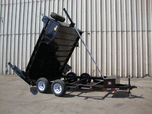 Miska 5 Ton Heavy Duty Dump Trailers