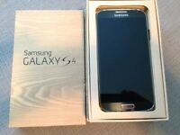 LNIB Samsung Galaxy S4-factory unlocked+ Two Flip case+ car char