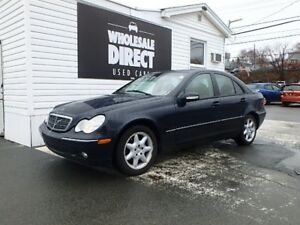2002 Mercedes-Benz C-Class SEDAN C240 6 SPEED 2.6 L