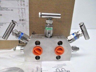 Emerson Rosemount Manifold Valve 305rc32b11b4 New Equipment Construction