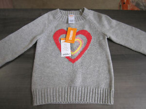 GYMBOREE Sweater, girls size 5-6, BNWT