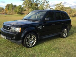 2011 Land Rover Range Rover MY11 Sport 3.0 TDV6 Metallic Black 6 Speed Automatic Wagon Applethorpe Southern Downs Preview