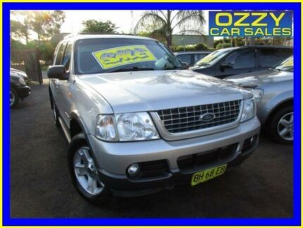 2004 Ford Explorer UZ XLT (4x4) Silver 5 Speed Automatic Wagon
