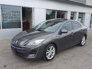 2011 MAZDA3 GT SPORT GRAND TOURING | LEATHER | XENONS| 6SPEED