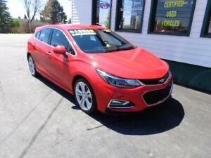 2018 Chevrolet Cruze Premier RS for only $165 bi-weekly all in!