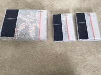 Brand New Sheridan bedding - Super Kiing quilt + pillows - original price £269.Selling for £120 ono